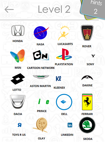 Logos Quiz Answers Level 2 Part 2 Itouchapps  picture wallpaper image