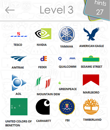 Logos Quiz Answers: Level 3 Part 4 | iTouchApps.net - Your #1 Resource