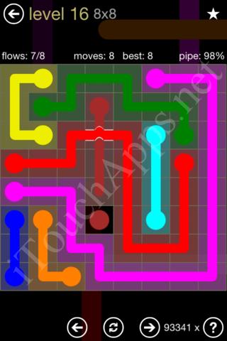 see next level s solution flow bridges 8 8 mania pack level 17 ...