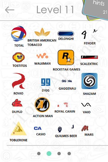 Company Logos Quiz Answers Level 2
