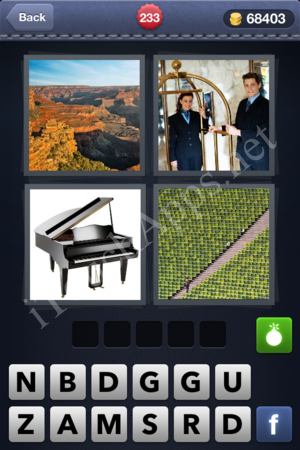 4 Pics 1 Word Level 233 Solution