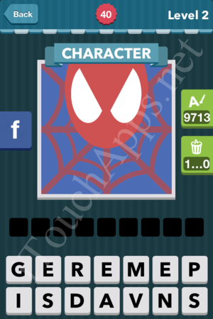 level 40 answer spiderman